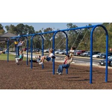 Arched Swing Frame - 4 Bay, 3.5 Inch post